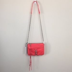REBECCA MINKOFF Hot Red Mini Mac